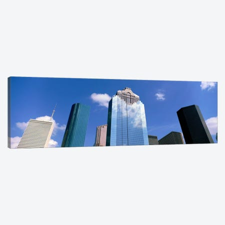 Downtown Office Buildings, Houston, Texas, USA Canvas Print #PIM1348} by Panoramic Images Canvas Artwork