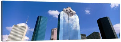 Downtown Office Buildings, Houston, Texas, USA Canvas Art Print