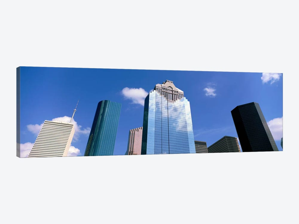 Downtown Office Buildings, Houston, Texas, USA by Panoramic Images 1-piece Canvas Wall Art