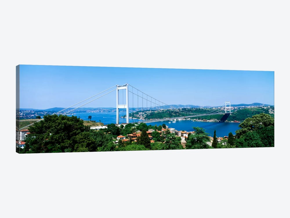 Fatih Sultan Ahmet Bridge, Istanbul, Turkey by Panoramic Images 1-piece Canvas Art
