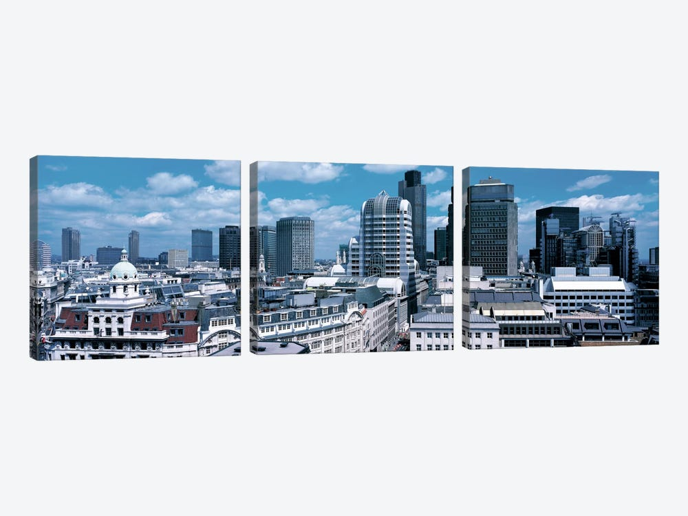 London England by Panoramic Images 3-piece Canvas Art