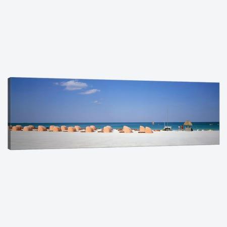 Beach Scene, Miami, Florida, USA Canvas Print #PIM1388} by Panoramic Images Canvas Art