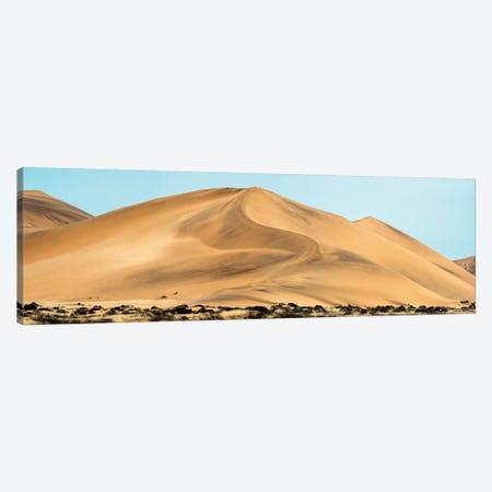 Desert Landscape, Walvis Bay, Namibia Canvas Print #PIM13938} by Panoramic Images Canvas Artwork