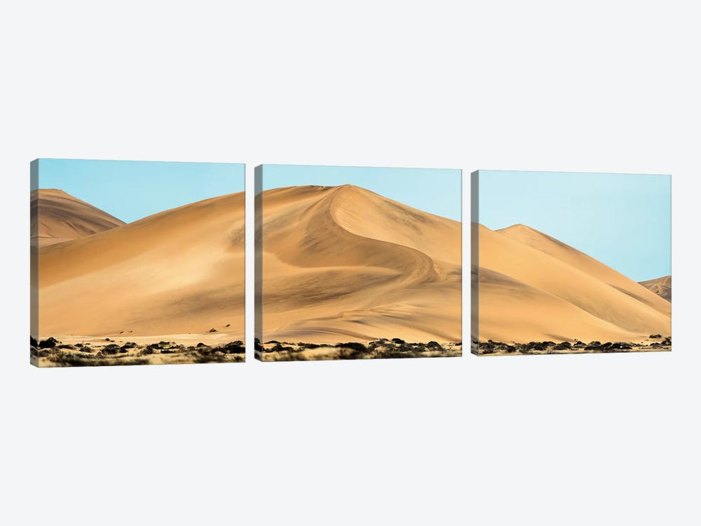 Desert Landscape, Walvis Bay, Namibia by Panoramic Images 3-piece Canvas Print