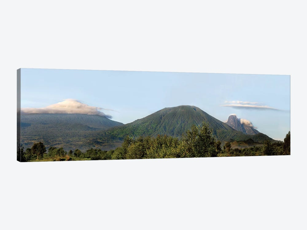 Rainforest Landscape, Volcanoes National Park (Parc National des Volcans), Rwanda by Panoramic Images 1-piece Canvas Artwork