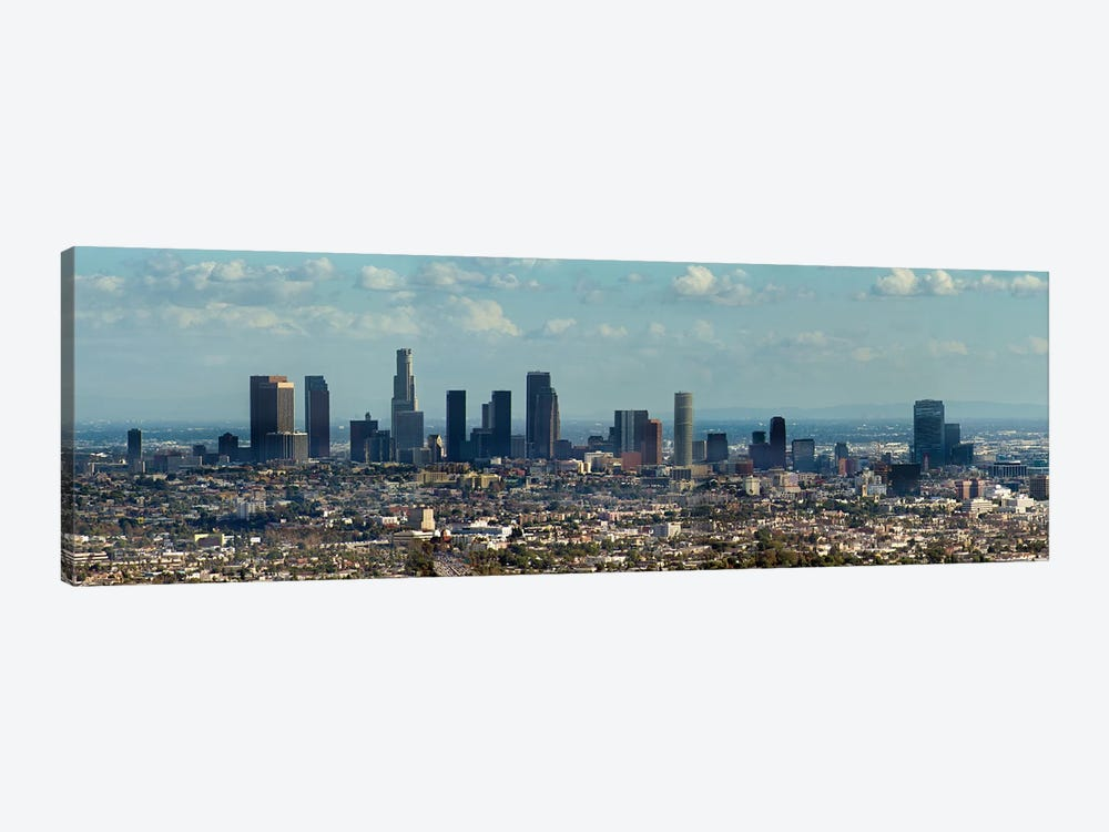 Downtown Skyline, Los Angeles, Los Angeles County, California, USA by Panoramic Images 1-piece Canvas Artwork