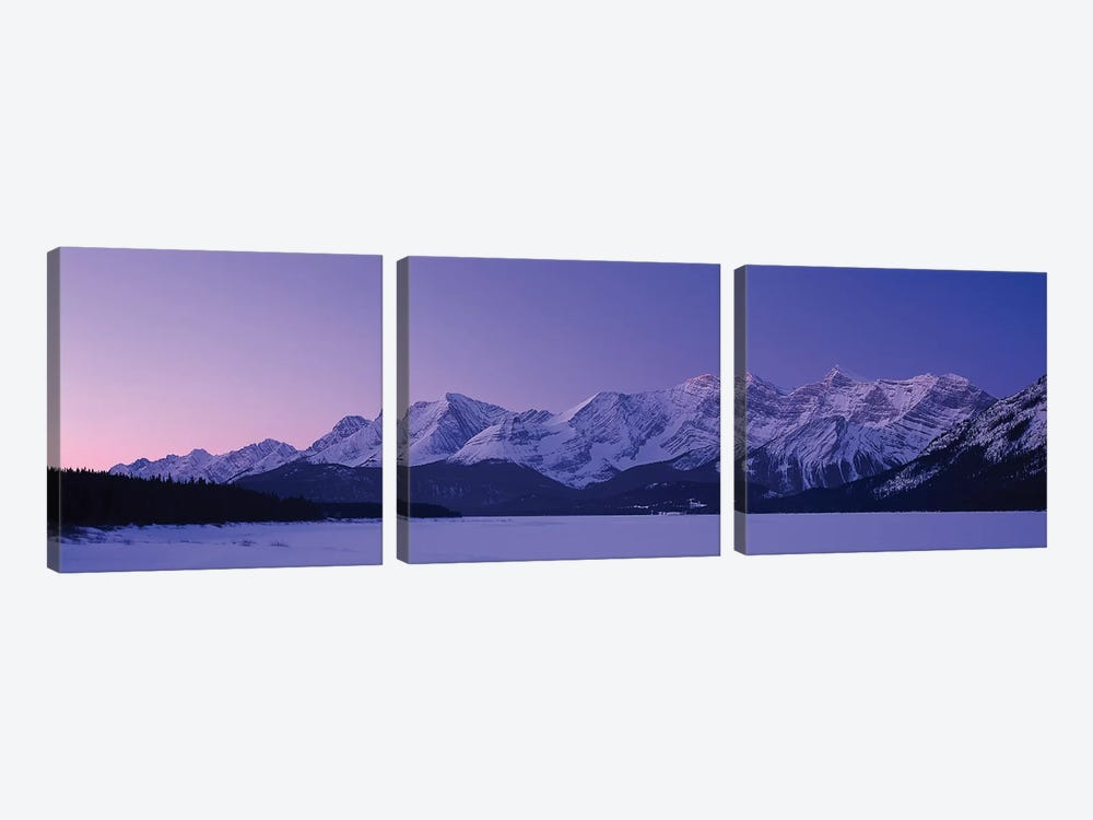 Mount Foch, Alberta, Canada by Panoramic Images 3-piece Canvas Artwork