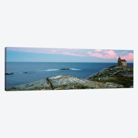 Rose Blanche Lighthouse, Rose Blanche-Harbour le Cou, Newfoundland And Labrador Province, Canada Canvas Print #PIM13953} by Panoramic Images Canvas Art