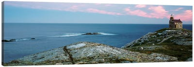 Rose Blanche Lighthouse, Rose Blanche-Harbour le Cou, Newfoundland And Labrador Province, Canada Canvas Print #PIM13953