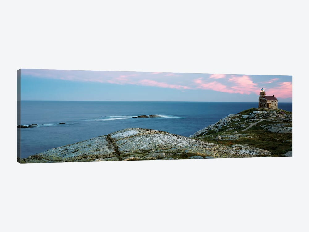 Rose Blanche Lighthouse, Rose Blanche-Harbour le Cou, Newfoundland And Labrador Province, Canada by Panoramic Images 1-piece Canvas Artwork