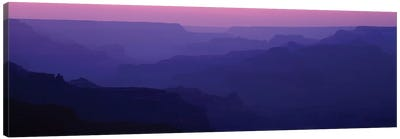 Grand Canyon At Sunset, South Rim, Grand Canyon National Park, Arizona, USA Canvas Art Print