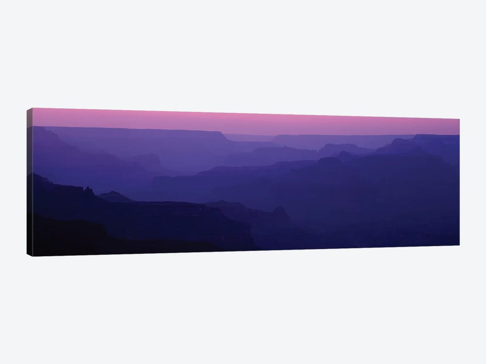 Grand Canyon At Sunset, South Rim, Grand Canyon National Park, Arizona, USA by Panoramic Images 1-piece Art Print