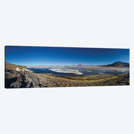 Laguna Colorada, Eduardo Abaroa Andean Fauna National Reserve, Sur Lipez Province, Potosi Department, Bolivia Canvas Print #PIM13961} by Panoramic Images Canvas Art Print