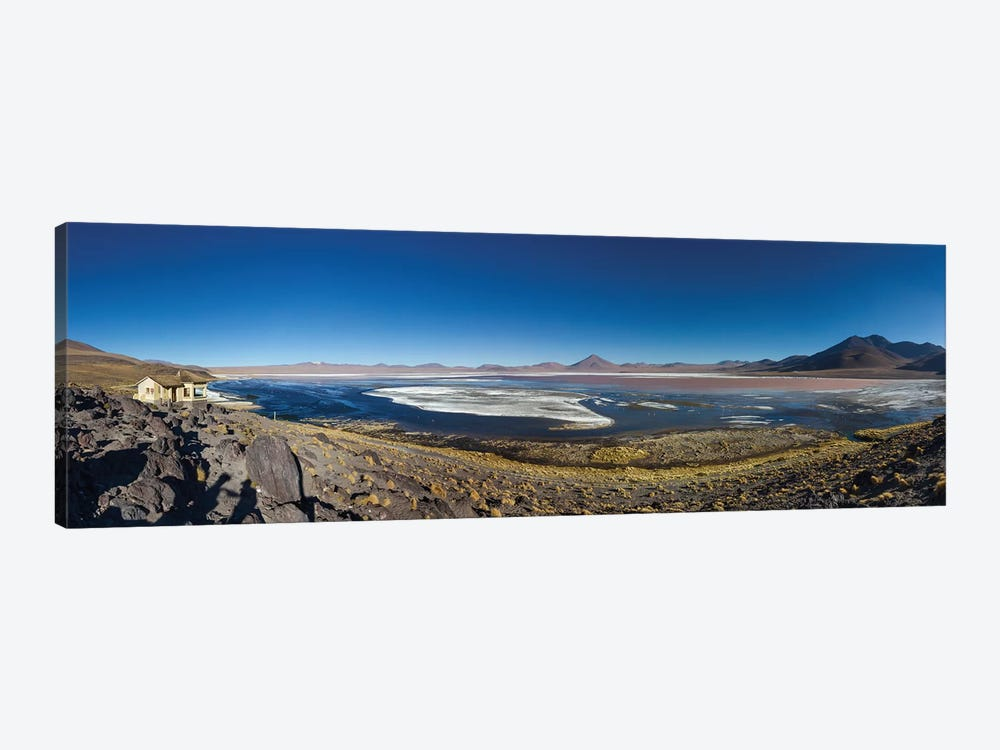 Laguna Colorada, Eduardo Abaroa Andean Fauna National Reserve, Sur Lipez Province, Potosi Department, Bolivia by Panoramic Images 1-piece Canvas Print
