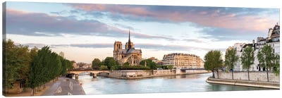 Notre-Dame de Paris (Notre-Dame Cathedral), Paris, Ile-de-France, France Canvas Print #PIM13963