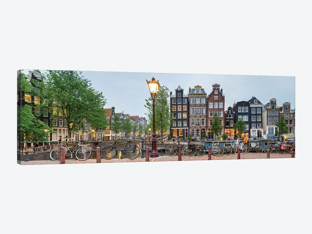 Cityscape I, Amsterdam, North Holland Province, Netherlands by Panoramic Images 1-piece Canvas Print