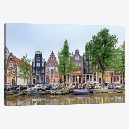 Cityscape III, Amsterdam, North Holland Province, Netherlands Canvas Print #PIM13967} by Panoramic Images Canvas Artwork