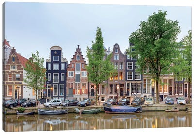 Cityscape III, Amsterdam, North Holland Province, Netherlands Canvas Print #PIM13967