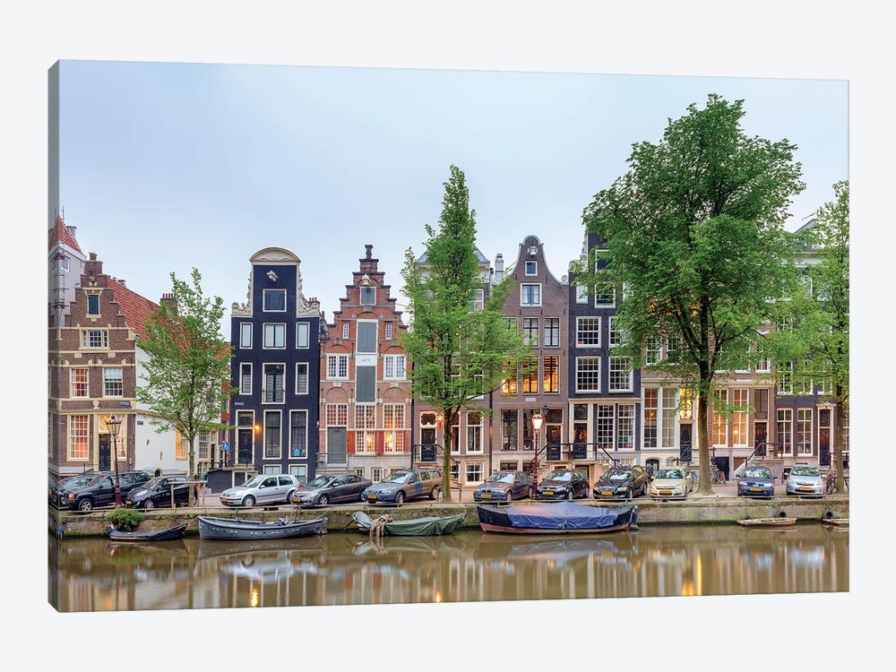 Cityscape III, Amsterdam, North Holland Province, Netherlands by Panoramic Images 1-piece Canvas Art Print