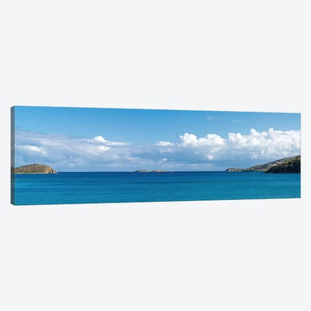 Seascape, Coral Bay, St. John, U.S. Virgin Islands Canvas Print #PIM13971} by Panoramic Images Canvas Artwork