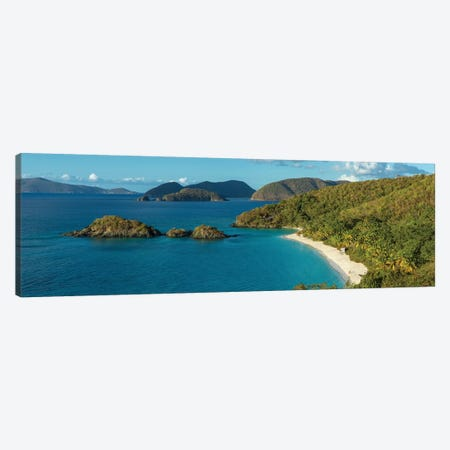 Trunk Bay I, St. John, U.S. Virgin Islands Canvas Print #PIM13972} by Panoramic Images Canvas Wall Art