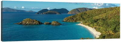 Trunk Bay I, St. John, U.S. Virgin Islands Canvas Art Print