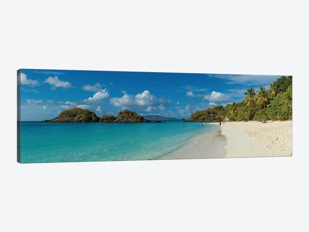 Trunk Bay II, St. John, U.S. Virgin Islands by Panoramic Images 1-piece Canvas Art