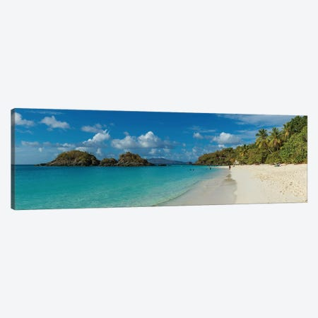Trunk Bay II, St. John, U.S. Virgin Islands Canvas Print #PIM13973} by Panoramic Images Canvas Artwork