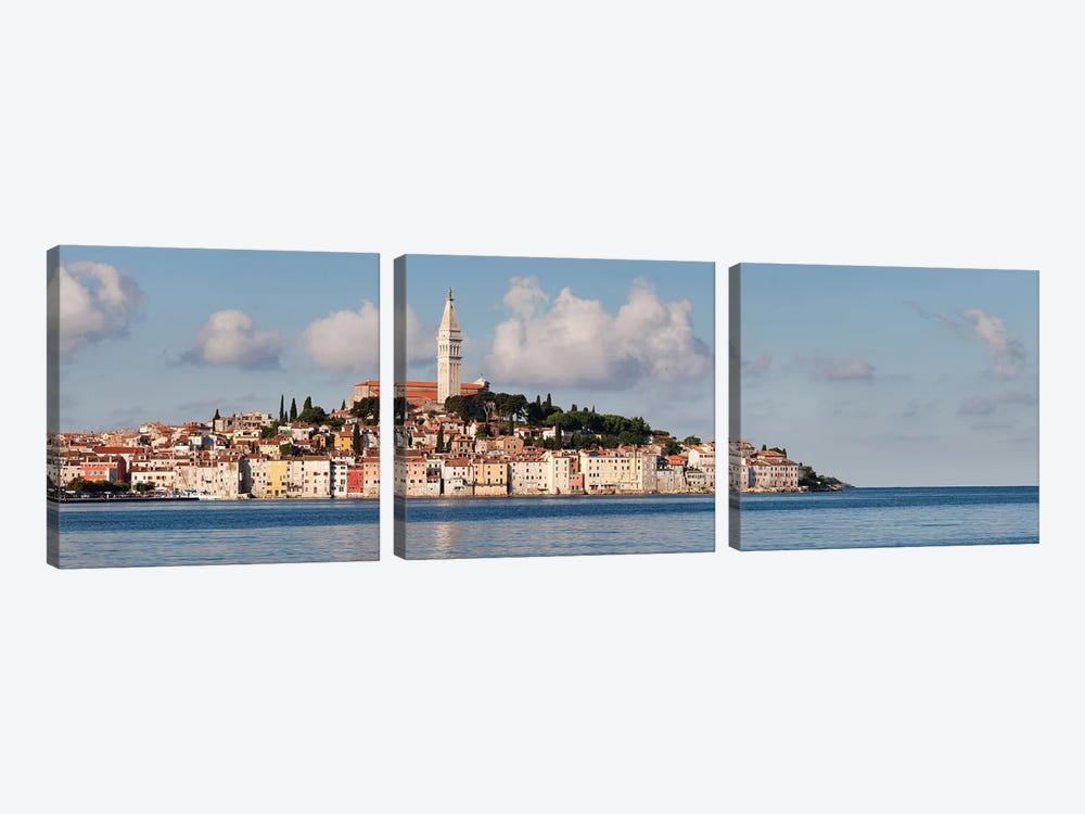 Basilica of St. Euphemia I, Rovinj, Istria, Croatia by Panoramic Images 3-piece Canvas Artwork