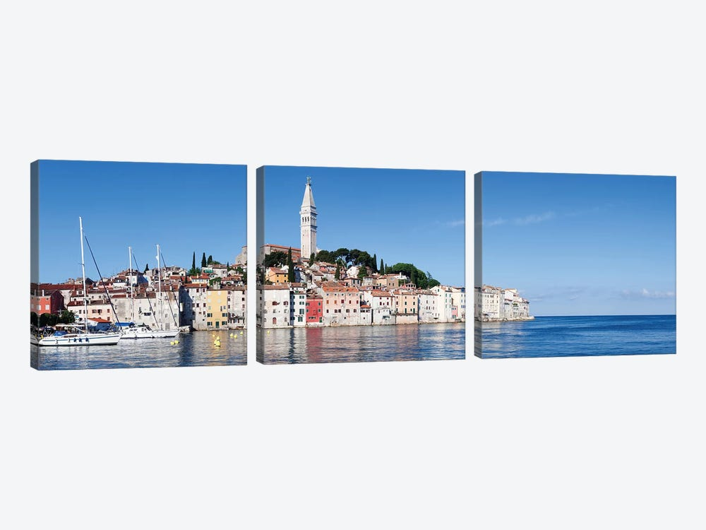 Basilica of St. Euphemia II, Rovinj, Istria, Croatia by Panoramic Images 3-piece Art Print