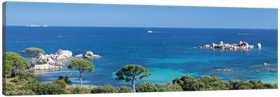 Palombaggia Beach, Porto Vecchio, Corse-du-Sud, Corsica, France Canvas Print #PIM13977