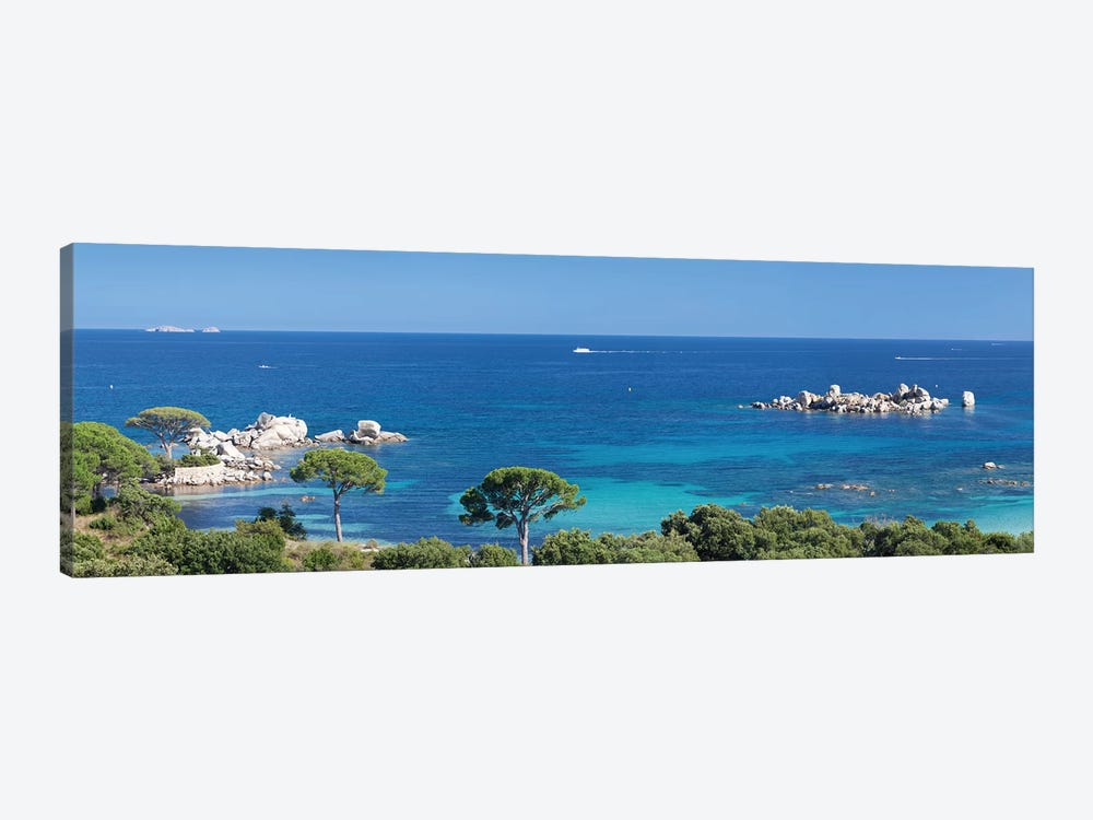 Palombaggia Beach, Porto Vecchio, Corse-du-Sud, Corsica, France by Panoramic Images 1-piece Canvas Wall Art
