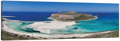 Cape Tigani I, Balos Lagoon, Kissamos, Chania, Crete, Greece Canvas Art Print