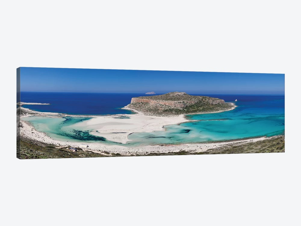 Cape Tigani I, Balos Lagoon, Kissamos, Chania, Crete, Greece by Panoramic Images 1-piece Canvas Print