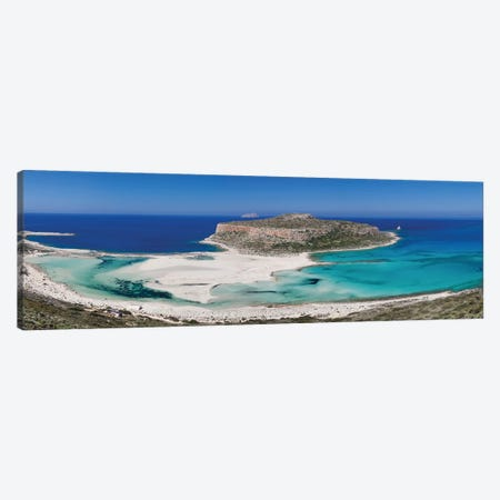Cape Tigani I, Balos Lagoon, Kissamos, Chania, Crete, Greece Canvas Print #PIM13978} by Panoramic Images Canvas Art