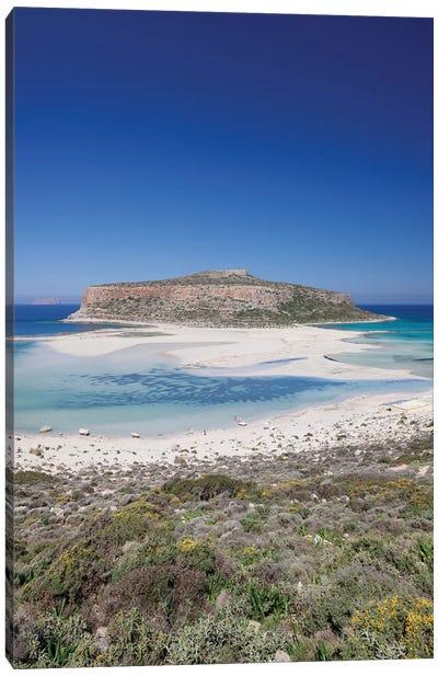 Cape Tigani II, Balos Lagoon, Kissamos, Chania, Crete, Greece Canvas Art Print