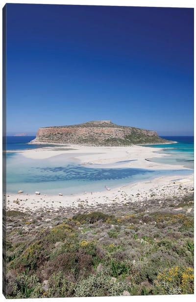 Cape Tigani II, Balos Lagoon, Kissamos, Chania, Crete, Greece Canvas Art Print