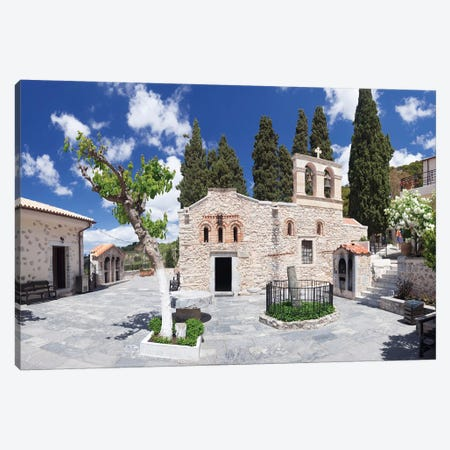Keras Kardiotissas Monastery, Kera, Heraklion, Crete, Greece Canvas Print #PIM13982} by Panoramic Images Canvas Print