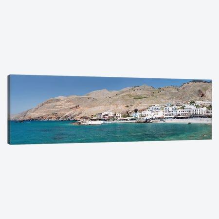 Hora Sfakion, Sfakia, Chania, Crete, Greece Canvas Print #PIM13983} by Panoramic Images Art Print