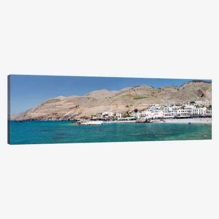 Hora Sfakion, Sfakia, Chania, Crete, Greece Canvas Print #PIM13983} by Panoramic Images Art Print