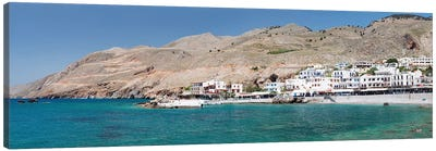 Hora Sfakion, Sfakia, Chania, Crete, Greece Canvas Art Print