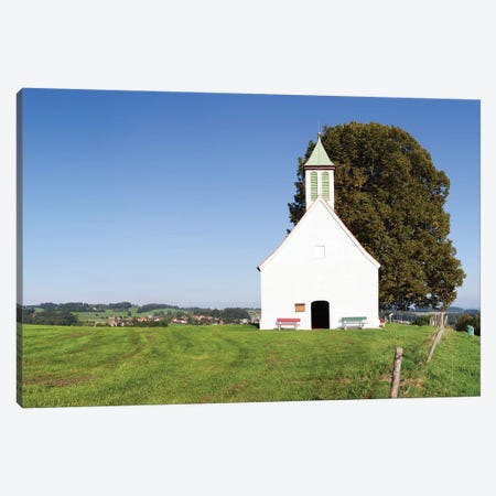 Heilig-Kreuz-Kapelle (Holy Cross Chapel) I, Amtzell, Ravensburg, Baden-Wurttemberg, Germany Canvas Print #PIM13985} by Panoramic Images Canvas Wall Art