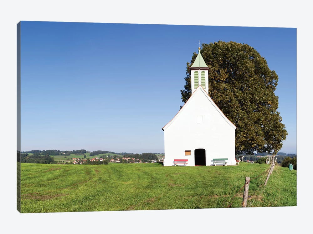 Heilig-Kreuz-Kapelle (Holy Cross Chapel) I, Amtzell, Ravensburg, Baden-Wurttemberg, Germany by Panoramic Images 1-piece Art Print