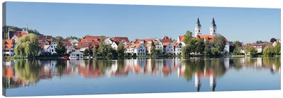 St. Peter's Church, Bad Waldsee, Ravensburg, Baden-Wurttemberg, Germany Canvas Art Print
