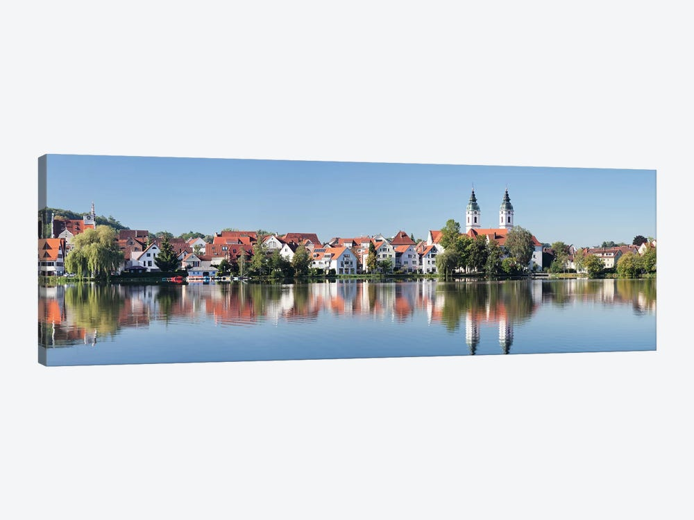 St. Peter's Church, Bad Waldsee, Ravensburg, Baden-Wurttemberg, Germany by Panoramic Images 1-piece Canvas Wall Art