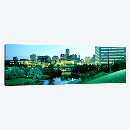 Omaha NE Canvas Print #PIM1398} by Panoramic Images Canvas Art Print
