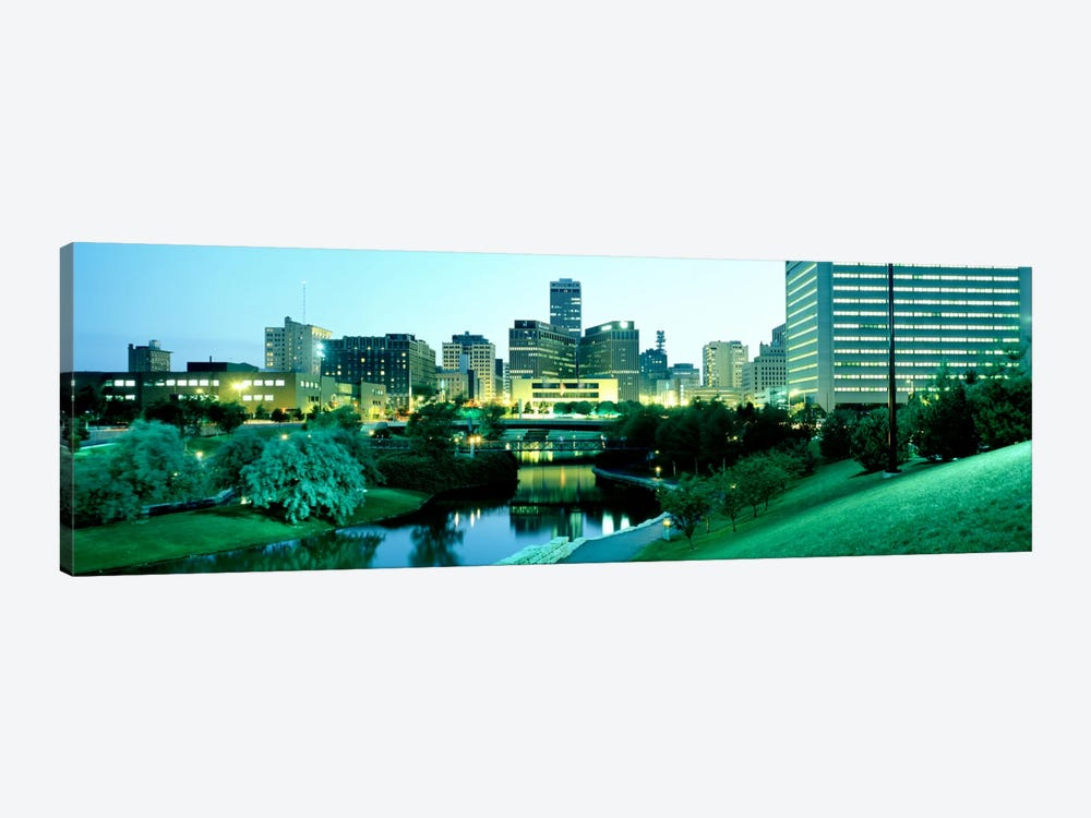 Omaha NE by Panoramic Images 1-piece Canvas Art Print