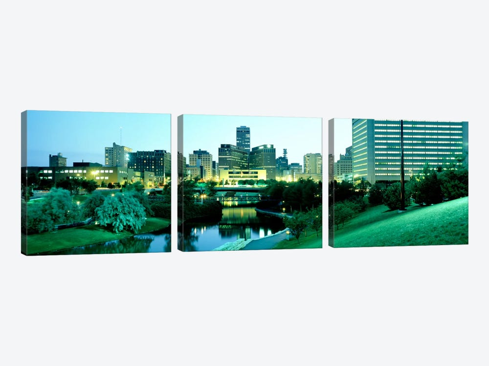 Omaha NE by Panoramic Images 3-piece Art Print