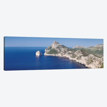 Cap de Formentor (Meeting Place Of The Winds) I, Majorca, Balearic Islands, Spain Canvas Print #PIM13990} by Panoramic Images Canvas Artwork