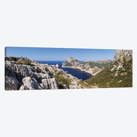 Cap de Formentor (Meeting Place Of The Winds) II, Majorca, Balearic Islands, Spain Canvas Print #PIM13991} by Panoramic Images Canvas Wall Art